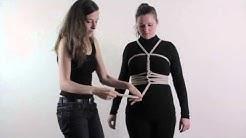 Bondage in de praktijk: touwkorset