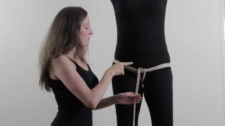 Bondage in de praktijk: touwslip